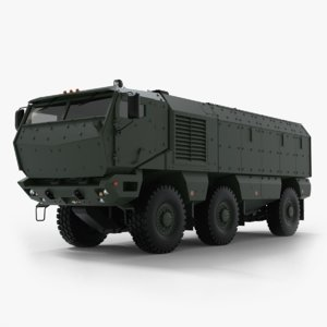 prototype kamaz typhoon 3D model