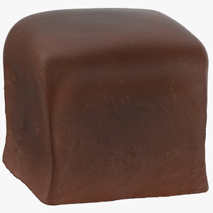 3D chocolate bonbon 02