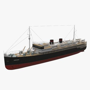 3D adjaria ship model
