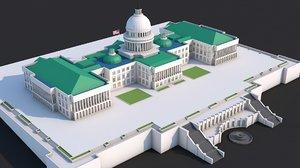 landmark capitol hill 3D model