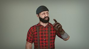 lumberjack games animations 3D
