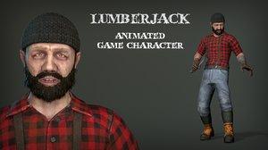 lumberjack games animations 3D