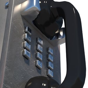 3D telephone phone prison