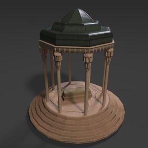hafez s tomb model