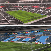 Soccer Stadiums Collection - Day and Night