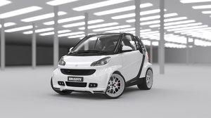 2016 interior car 3D model