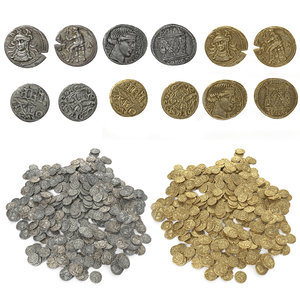old coins 3D