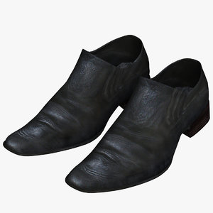 polygonal shoes 3d model