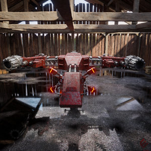 space ship spaceship 3D model