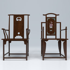 high-back chair ming dynasty model