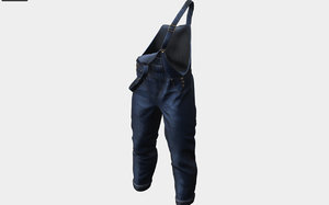 3D clothing apparel pant