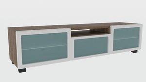 3D tv table livingroom
