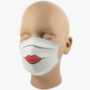 medical mask 3D model