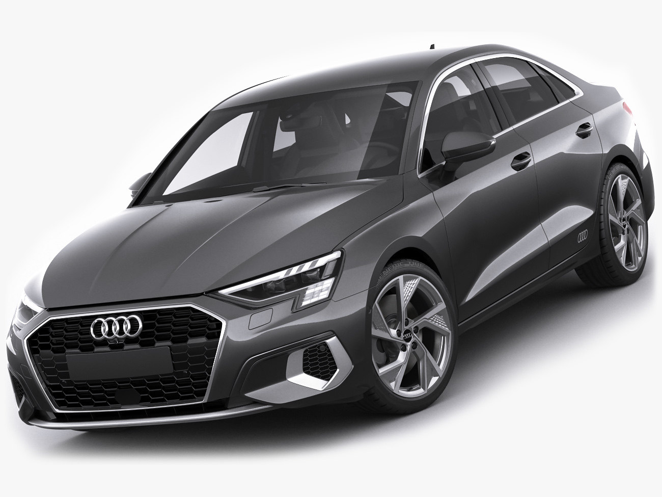 Audi a3 2021 3D - TurboSquid 1560137