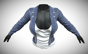 female clothes 3D