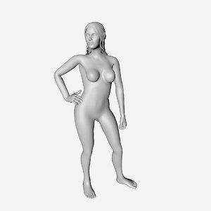 elf statue model
