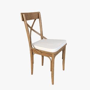 3D chair v36 model