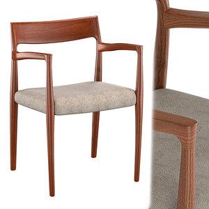 moller 57 armchair 3D model