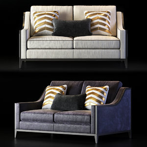 settee sofa couch 3D
