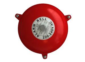 alarm bell 3D