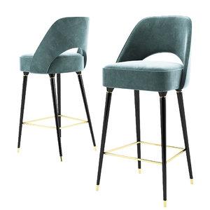 collins bar chair 3D model