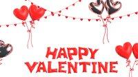 Valentine Balloon decoration