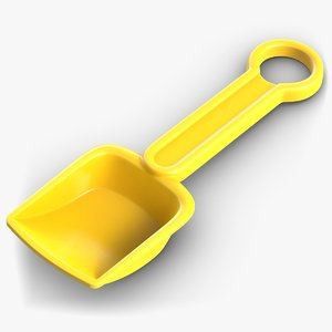 sand toy shovel model