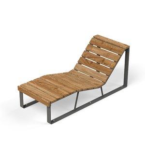lounger - 3D model