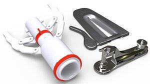 3D circumcision clamps model