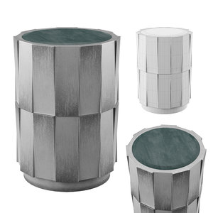 niko accent table madison 3D model