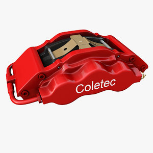 3D brake caliper model