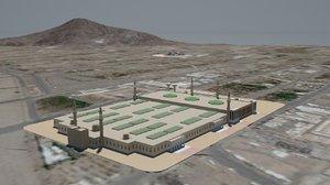 3D masjid namirah 2020