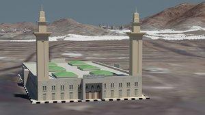 masjid michaar haram 3D