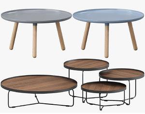 coffee table set model