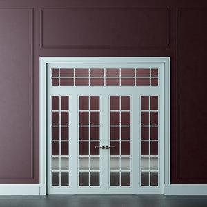 3D interior door