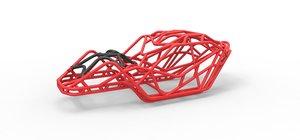 3D diecast frame tim cameron