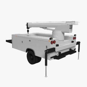 3D service truck shell