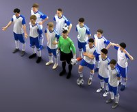 Collection of Soccer team 1114