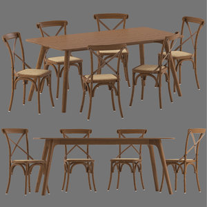 3D model cult furniture silvie chair
