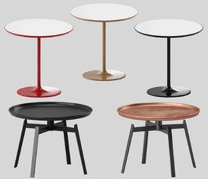 table set b italia 3D model