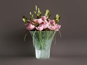 flowers vase model