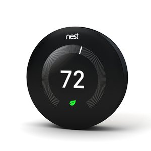 nest thermostat 3 3D model
