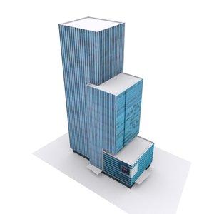 jakarta office building model