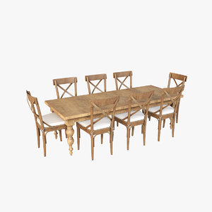 3D dining table v3