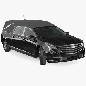 3D cadillac platinum phoenix hearse