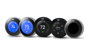 3D nest thermostat