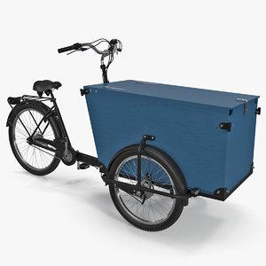 3D cargo bike model