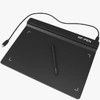 Graphics Tablet with Pen and wire
