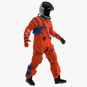 orion crew survival spacesuit 3D model