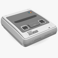 SNES 16bit Home Video Game Console